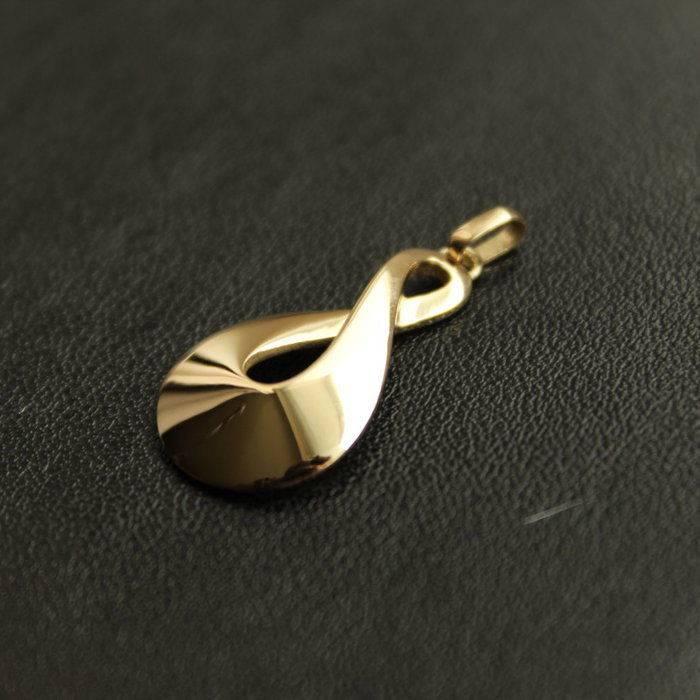 Infinity pendant Gold Foto